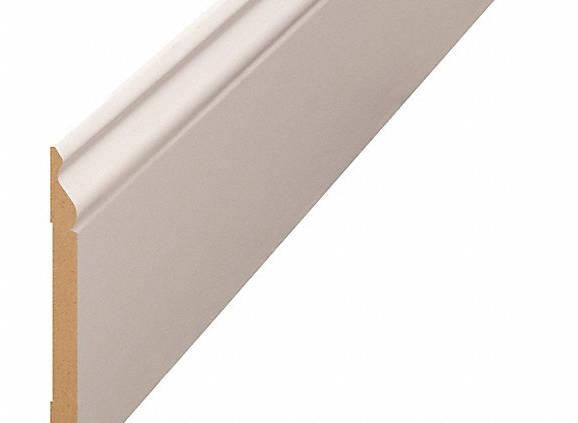 listwy przypodłogowe białe mDF